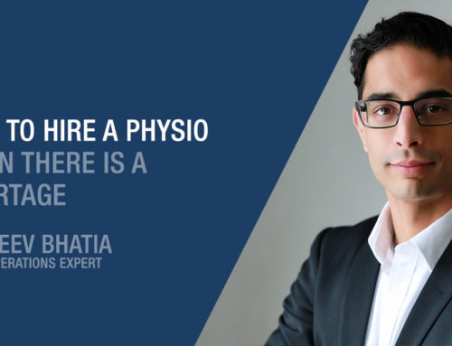 How to hire a physiotherapist when there is a shortage